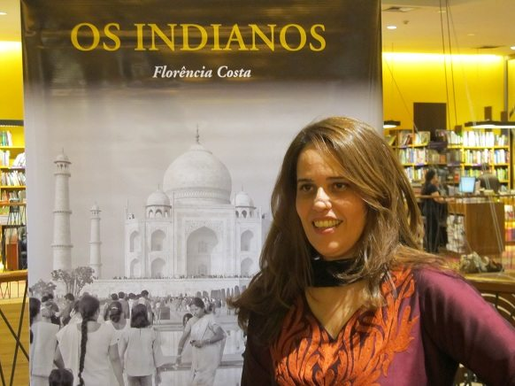 Florencia Costa at the book launch