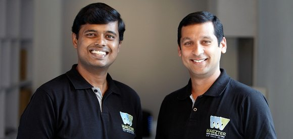 Vijayakumar Radhakrishnan and Girish Ramdas, founders of Magzter.