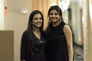 The co-founders of Devi's Closet, Meera Patel and Sheena Patel.