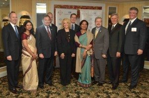 Governors and Diplomats at CII meeting 2013