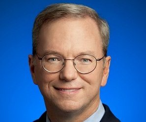 Eric Schmidt; photo credit: google.com