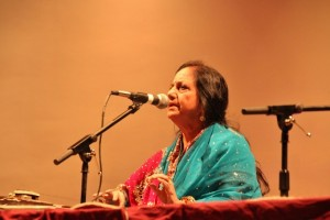 Dr. Usha Bhargave was a vocal performer at the meet.