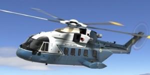 An AW101 chopper; credit: agustawestland.com