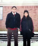 Anjali and Ashif during their college days.