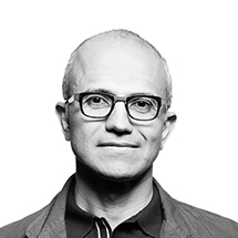 Satya Nadella (courtesy of Microsoft)