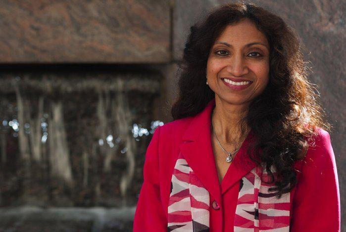 """Geetha Ravindra, author of """"Shaadi Remix"""" (courtesy of Amazon)"""