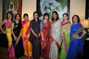 Joya Dass (third from the left) with the co-founders and board members of Chetna