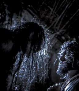 Actors Walter Phelan Dominc Rains in 'Jinn'