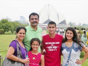 The Varughese family