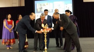 The 32nd annual convention of AAPI being inaugurated with the lighting of the traditional lamp