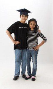 Tanishq (left) and Tiara Abraham (courtesy of Bijou and Taji Abraham, and Yahoo! Shine)