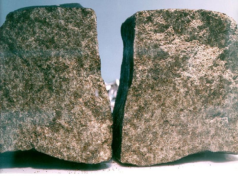 Nakhla-meteorite