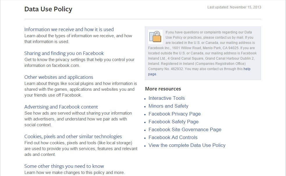 5 Important Clauses In Facebook S New Privacy Policy The American