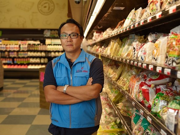 Alvin Lee, director of Asian supermarket chain Lotte