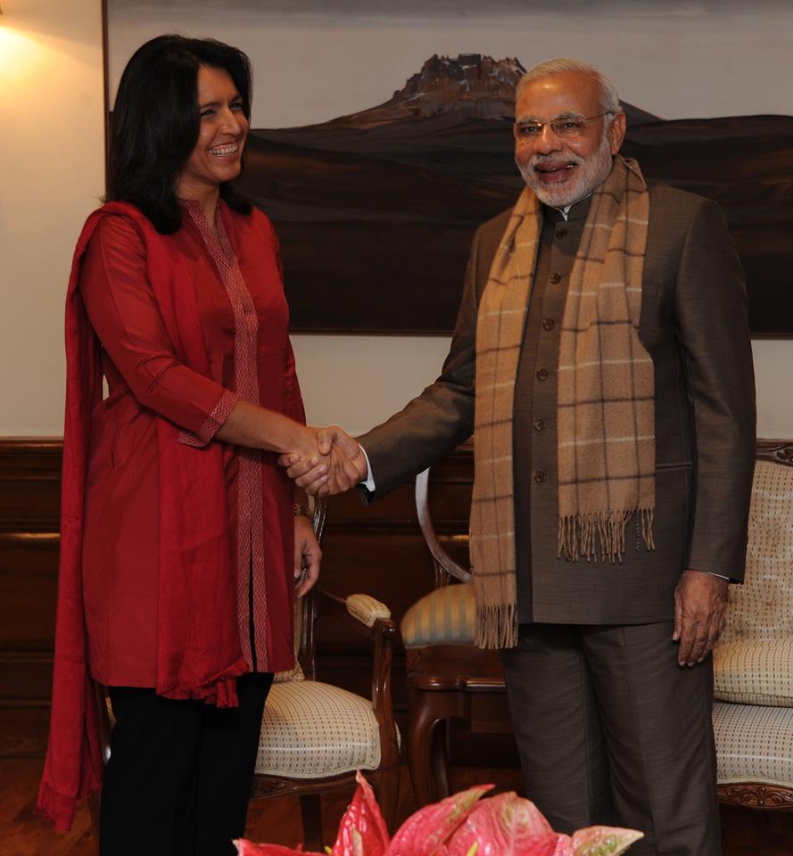 Tulsi Gabbard meeting PM