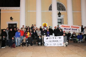 climate change vigil