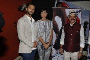Lalit Bisht, Jesse Randhawa and Govind Namdev at muhurat of 'JD'.