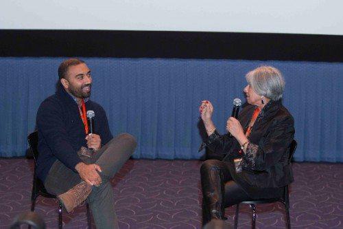"""Brahmin Bulls"" director Mahesh Pailoor in conversation with New York Indian Film Festival (NYIFF) Director Aroon Shivdasani."