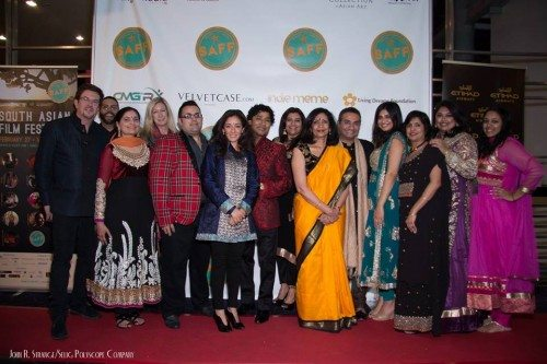 DFW SAFF Advisory Board Members - From L to R: Patrick O'Hara, Patric Alva, Nikita Vyas Hattangady, Nancy Williams, Josh Hurtado, Ami Doshi, Tanveer Rahman, Tripti Bhatnagar, Ritu Elhence Krishna, Jitin Hingorani, Krystal Sarna, Anjali Desai, Aarti Sarna and Ambica Dev.