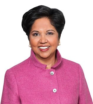 Indra Nooyi; photo credit: pepsico.com