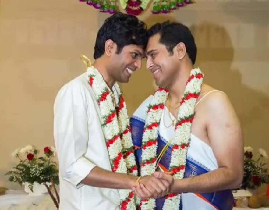 Two gay Indian American men of Malayalee origin get married in ...: www.americanbazaaronline.com/2015/04/14/two-gay-indian-american-men...