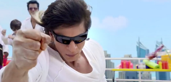 Shah Rukh Khan in Happy New Year.