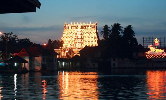 Padmanabhaswamy Temple in Thiruvananthapuram has gold holdings worth roughly $19 billion. Photo credit: Kerala Tourism
