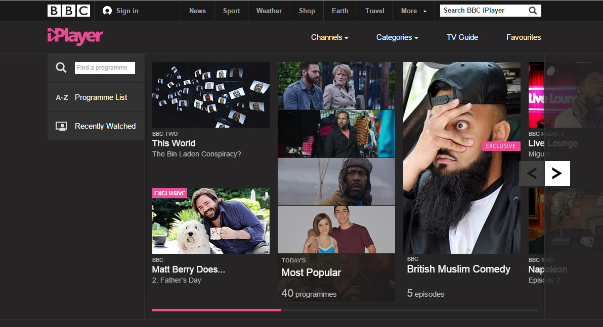 how to watch bbc iplayer in america