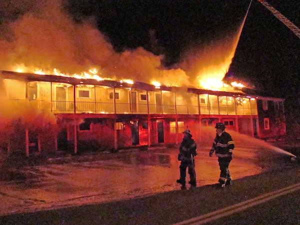 Motel  Gatlinburg Fire