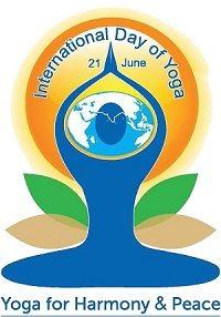 Yoga Day logo