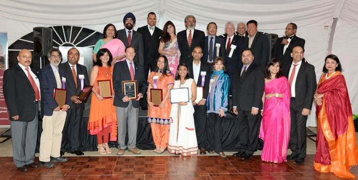 Richard Blumenthal Presented The Friend Of India Award