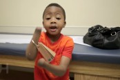 Zion Harvey, 8, from Maryland gets double-hand transplant