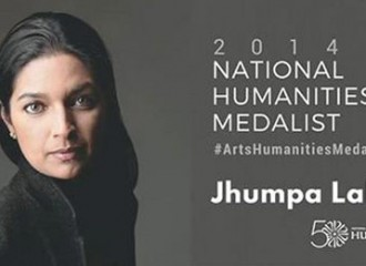 Jhumpa Lahiri to receive the 2014 National Humanities Medal from Barack Obama