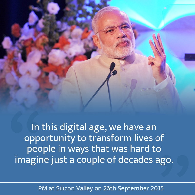 Top 10 quotes from PM Modi's 'Digital India Dinner Speech' in San Jose