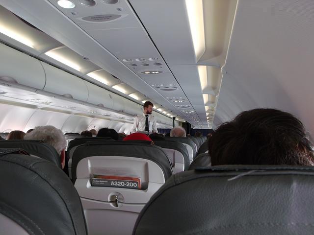 Muslim flight attendant