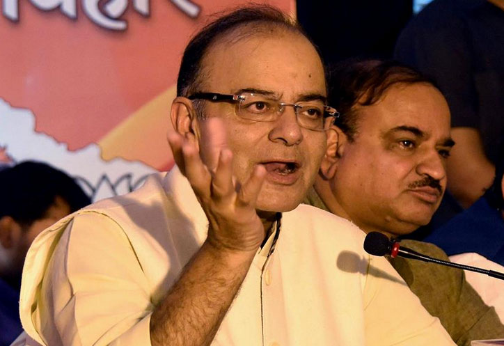 Arun Jaitley dismisses rumours of nano Global Positioning System chip on Rs 2000 note