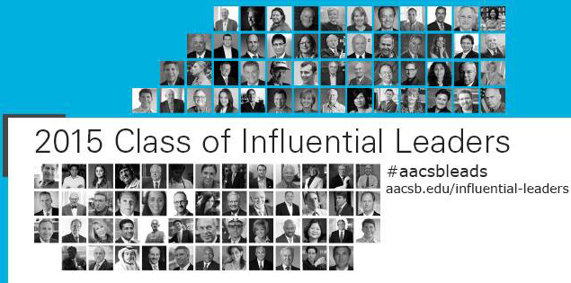 AACSB's-'100-Influential-Leaders'