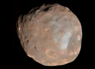 Future Mars to get a ring like Saturn after destruction of Phobos