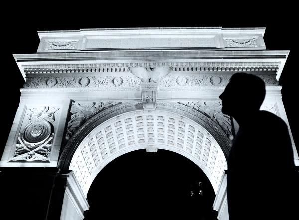 Washington Square Arch at NYU. Photo credit: Ilya Timofeyev