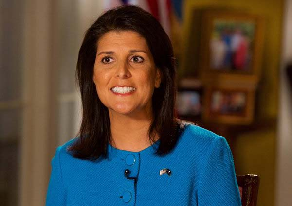 Indian-American-governor-nikki-haley