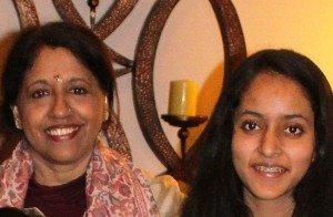 Kavita Krishnamurthy, with Esha Mittal
