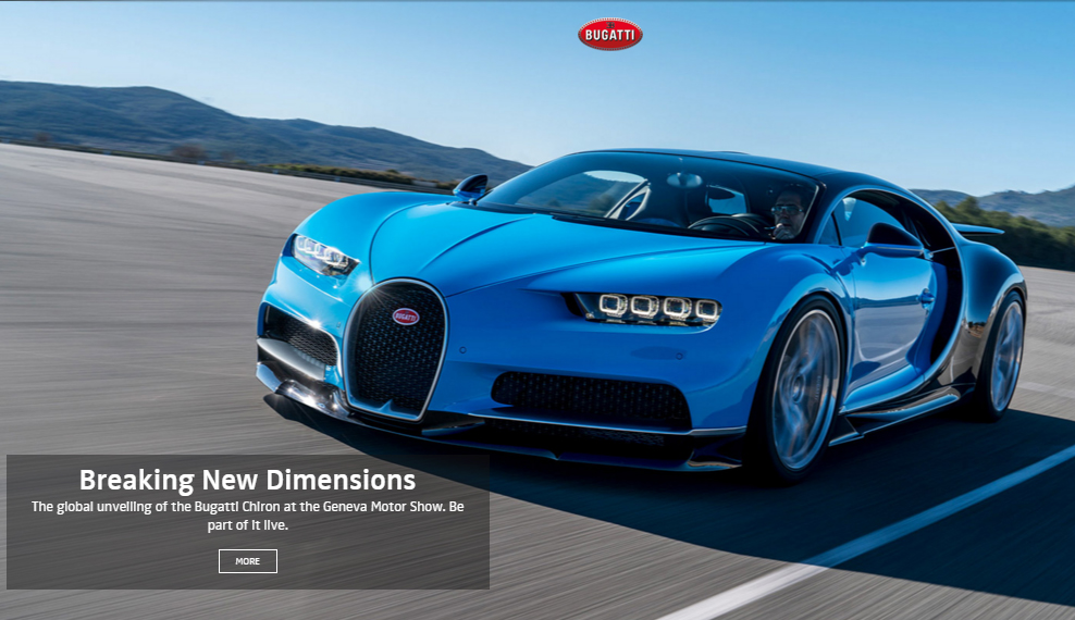 million Bugatti Chiron is the fastest car in the world - The ...