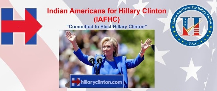 Indian Americans for Hillary Clinton