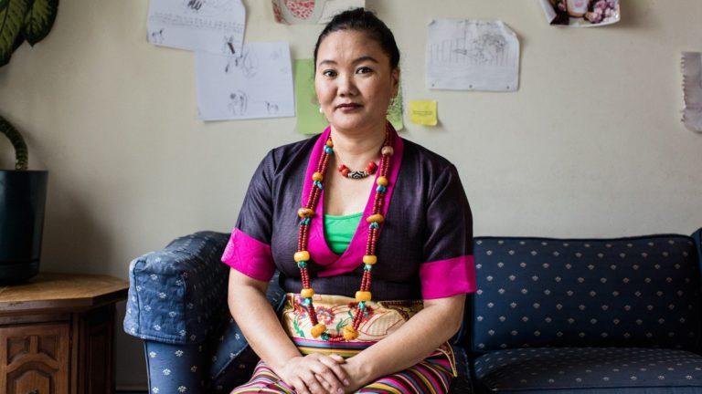 Lhaka Sherpa. Photo credit:  Jesse Burke, for Outside Magazine