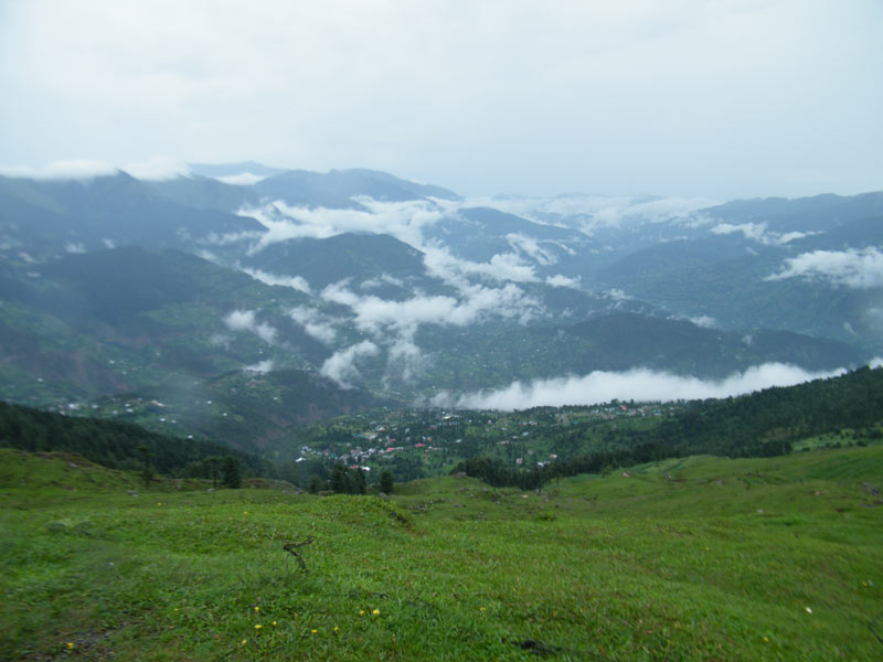 Clouds embracing hills-Sanasar, Patnitop