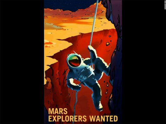 NASA-MARS-POSTER