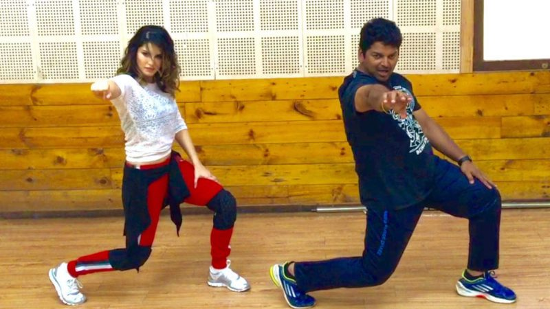 Sunny Leone gyrates with choreographer Vishnu Deva for ...