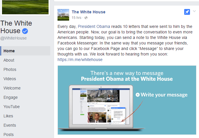 White House launches Messenger Bot, you can now message ...