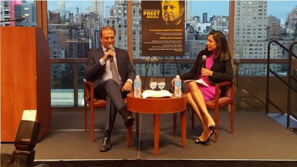 Preet Bharara and Seema Mody