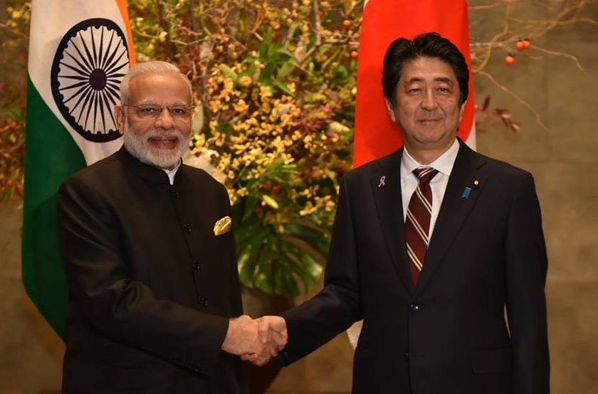 Narendra Modi returns home after Japan visit
